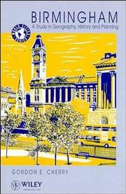 Cover of: Birmingham | Gordon Emanuel Cherry