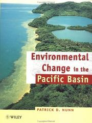 Cover of: Environmental change in the Pacific Basin