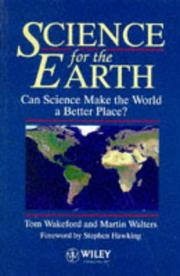 Cover of: Science for the Earth |
