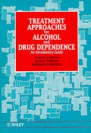 Cover of: Treatment approaches for alcohol and drug dependence