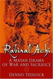 Cover of: Rabinal Achi