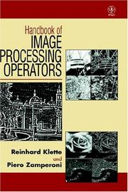 Cover of: Handbook of image processing operators | Reinhard Klette