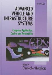 Cover of: Advanced Vehicle and Infrastructure Systems