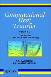 Cover of: Computational heat transfer