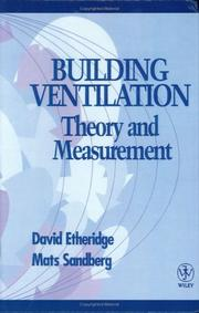 Cover of: Building ventilation