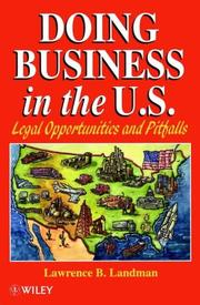 Cover of: Doing Business in the US