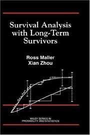 Cover of: Survival analysis with long-term survivors