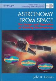 Cover of: Astronomy from space