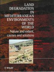 Land Degradation in Mediterranean Environments of the World by