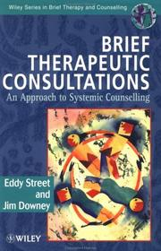 Cover of: Brief therapeutic consultations