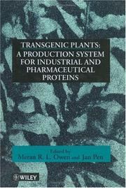 Cover of: Transgenic Plants |