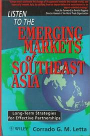 Cover of: Listen to the Emerging Markets of Southeast Asia