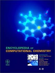 Cover of: Encyclopedia of computational chemistry |