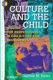 Cover of: Culture and the child