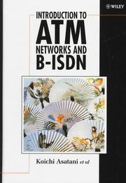 Cover of: Introduction to ATM networks and B-ISDN