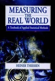 Cover of: Measuring the Real World