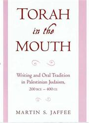 Cover of: Torah in the Mouth