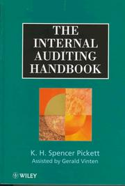 Cover of: internal auditing handbook | K. H. Spencer Pickett