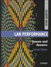 Cover of: LAN performance