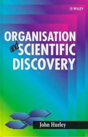 Cover of: Organisation and scientific discovery