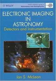 Cover of: Electronic imaging in astronomy