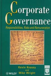 Cover of: Corporate governance |