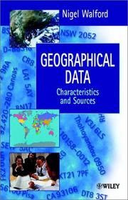 Cover of: Geographical Data