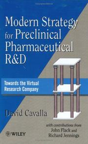 Cover of: Modern strategy for preclinical pharmaceutical R&D
