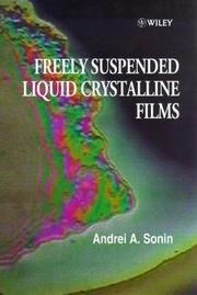 Cover of: Freely suspended liquid crystalline films