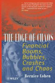 Cover of: The edge of chaos
