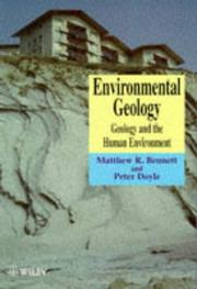 Environmental Geology by Matthew R. Bennett, Peter Doyle