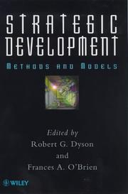 Cover of: Strategic development |