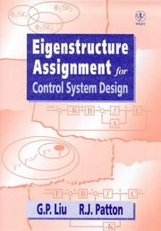 Cover of: Eigenstructure assignment for control system design