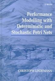 Cover of: Performance modelling with deterministic and stochastic Petri nets
