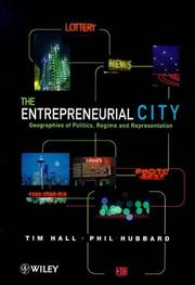 The Entrepreneurial City by