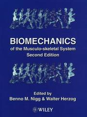 Cover of: Biomechanics of the musculo-skeletal system |