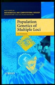 Cover of: Population genetics of multiple loci