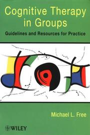 Cover of: Cognitive Therapy in Groups