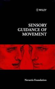Cover of: Sensory Guidance of Movement | Novartis Foundation Symposium