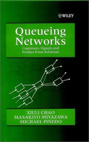 Cover of: Queueing networks