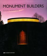 Cover of: Monument builders