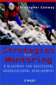 Cover of: Strategies for mentoring