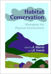 Cover of: Habitat Conservation Managing the Physical Environment |