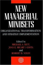 Cover of: New managerial mindsets