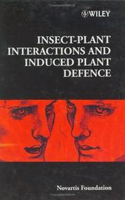 Cover of: Insect-Plant Interactions and Induced Plant Defence - No. 223 | Novartis Foundation
