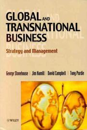Cover of: Global and transnational business