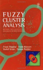 Fuzzy Cluster Analysis: Methods for Classification, Data Analysis and Image Recognition
