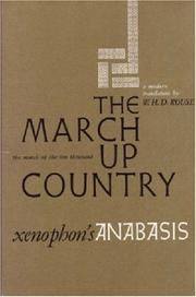 Cover of: The March Up Country | Xenophon