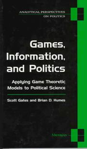 Cover of: Games, information, and politics