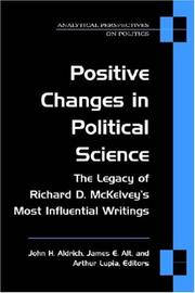 Cover of: Positive Changes in Political Science | John Aldrich
